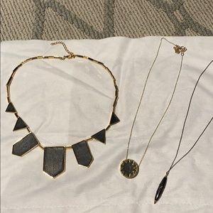 House of Harlow Set of 3 necklaces